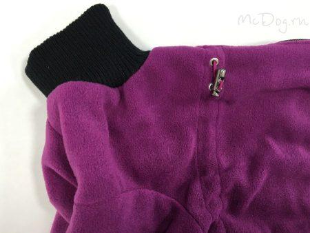 """Комбинезон флисовый для собак """"Плюш фиолетовый"""""""