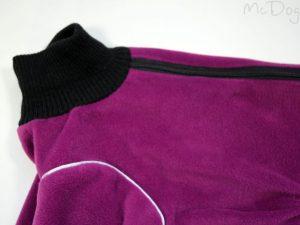 Комбинезон флисовый McDog «Плюш фиолетовый»
