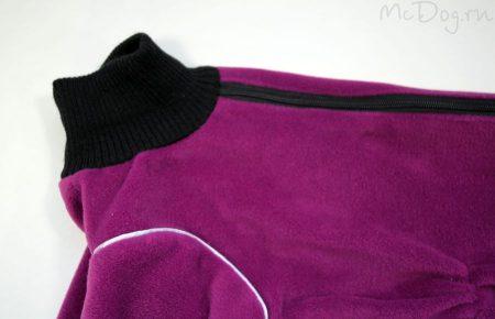 """Комбинезон McDog """"Плюш фиолетовый"""""""