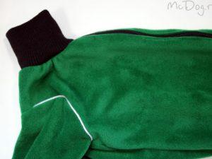 Комбинезон флисовый McDog «Плюш зеленый»