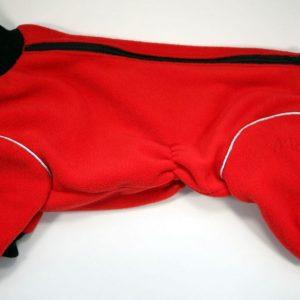 Комбинезон флисовый McDog «Плюш красный»