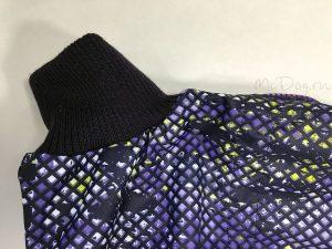 Комбинезон McDog «Пиксели фиолетовые» мембранный