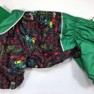 Комбинезон McDog «Зеленые машинки»