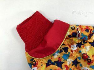 Комбинезон McDog «Желтые звезды с красным»
