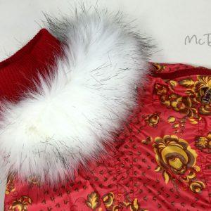 Зимний комбинезон McDog «Красная роспись»