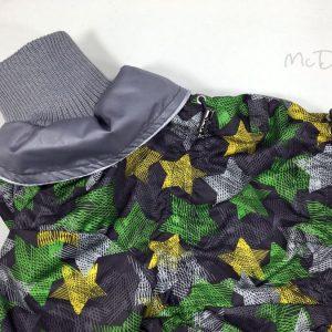 Комбинезон McDog «Зеленые звезды с серым»