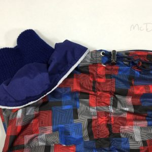 Комбинезон McDog «Красная клетка с синим»