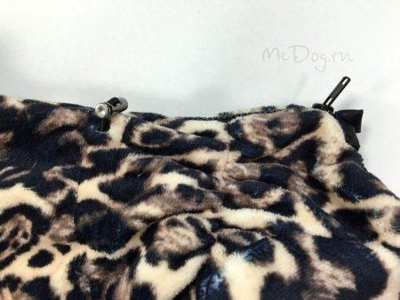 """Комбинезон для собак флисовый McDog """"Леопард"""""""