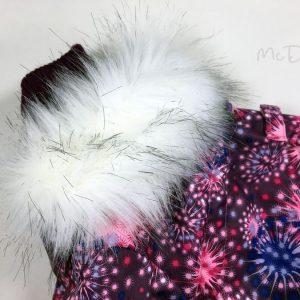 Зимний мембранный комбинезон McDog «Розовый салют»