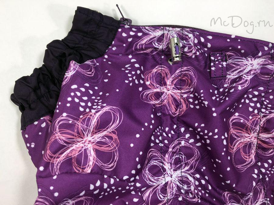 Комбинезон McDog «Фиолетовый бантик» на кнопке