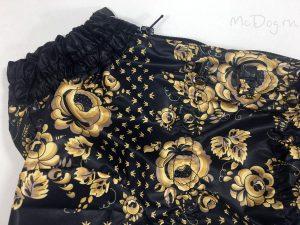 Комбинезон McDog «Золотая роспись с черным» на кнопке