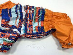 Комбинезон McDog «Арт с оранжевым» на кнопке