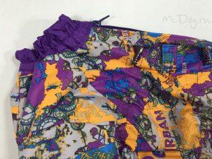 Комбинезон McDog «Фиолетовый Urban с фиолетовым» на кнопке мембранный с плащевкой