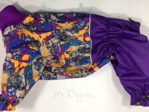 Комбинезон McDog «Фиолетовый Urban с фиолетовым» мембранный с плащевкой