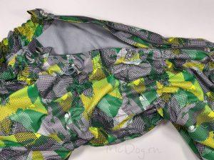 Комбинезон McDog «Зеленые стрелки» на кнопке мембранный