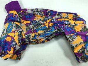 Комбинезон McDog «Фиолетовый Urban» мембранный