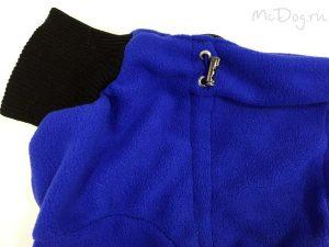 Комбинезон флисовый McDog «Плюш синий»